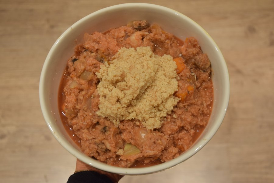 Bye bye winter: couscousbowl