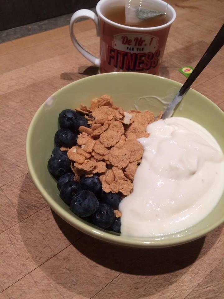 bosbessen ontbijt