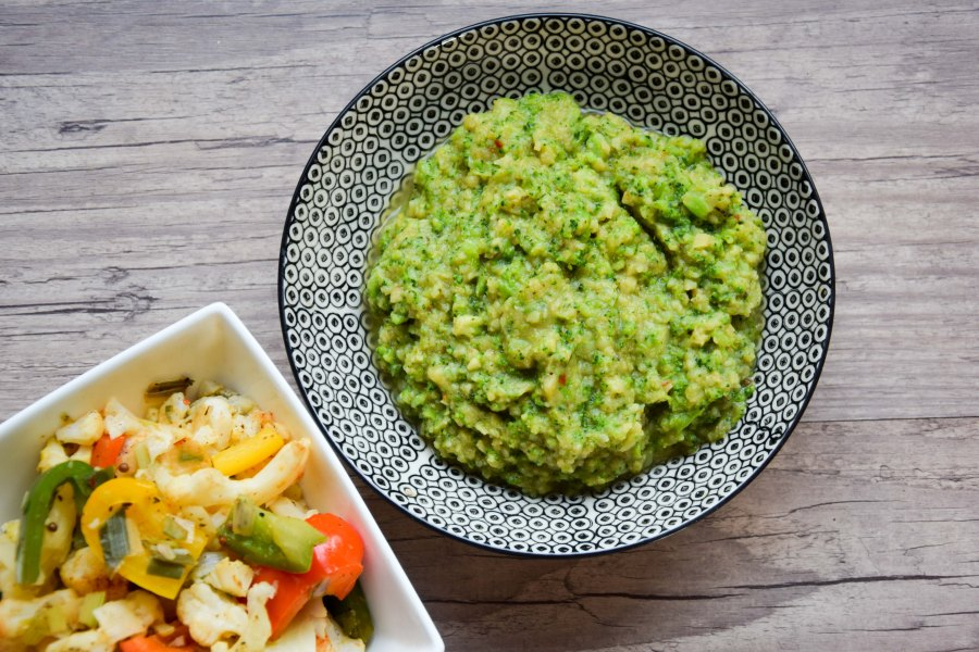 Broccolipuree met avocado