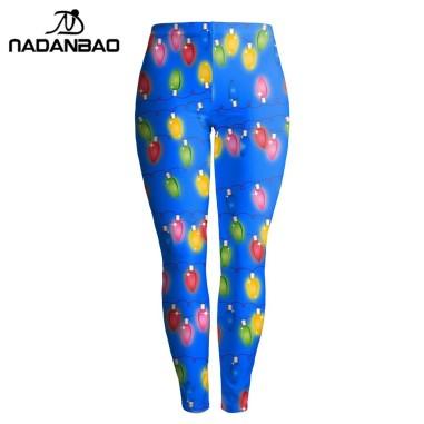 NADANBAO-Herfst-Vrouwen-Leggings-Kerstmis-Kleurrijke-Lamp-Gedrukt-Legging-Sexy-Silm-Legins-Hoge-Taille-Elastische-Vrouwen