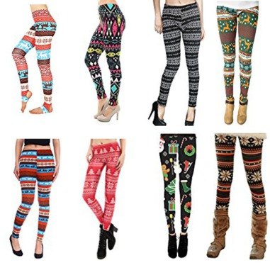 New-Autumn-Christmas-Leggins-Printed-Women-Slim