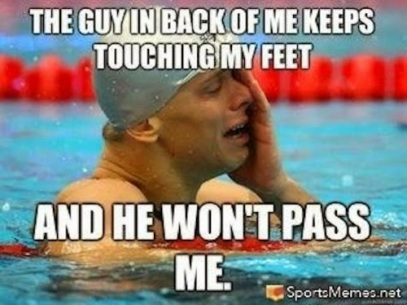 The-Guy-In-Back-Of-Me-Keeps-Touching-My-Feet-And-He-Wont-Pass-Me-Funny-Swimming-Meme-Image